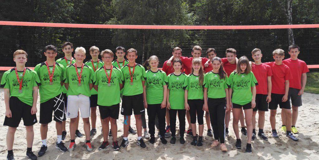 MCG-Sporties bei der Kreisolympiade im Volleyball