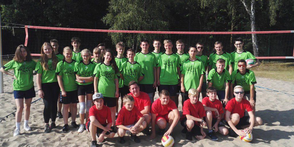 Volleyball-Grüße aus Rathenow