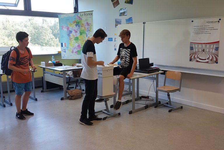 Juniorwahl am MCG