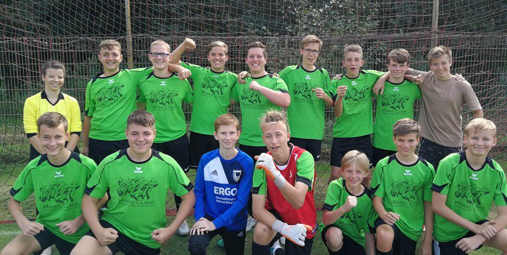 MCG-Sporties gewinnen Kreisfinale im Fußball